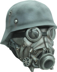 Chemical Warfare Ad Latex Mask