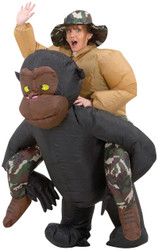 Inflatable Riding Gorilla Adul