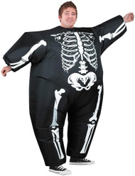 Inflatable Skeleton Costume
