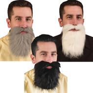 Mustache Beard 24 Pc Asst