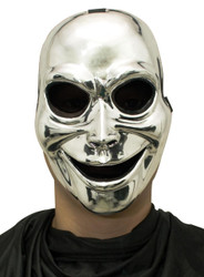 Sinister Ghost Silver Mask