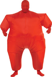 Inflatable Skin Suit Adult Red