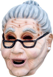Grandma Latex Mask