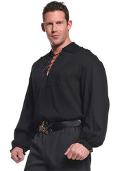 Pirate Shirt Adult Black