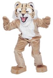 Bobcat Mascot Complete