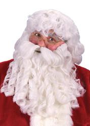 Dlx Santa Wig Beard Mustache