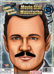 Moustache Hollywood Vintage