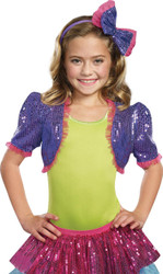 Dance Craze Bolero Purple Sm M