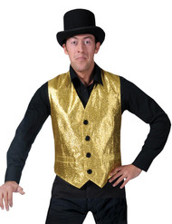 Gold Vest Adult Std