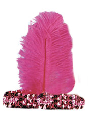 20s Headband Fuschia