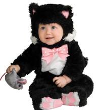 Inky Black Kitty 6-12 Mos.