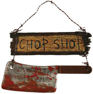 Chop Shop Sign
