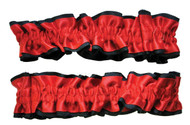 Armband Garters Red Black Pr