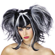 Wig Bad Fairy Black White