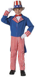 Uncle Sam Child Large 12-14
