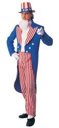 Uncle Sam Adult Costume Large