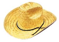 Cowboy Hat Straw 1 Sz