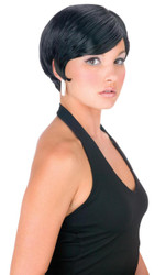 Pixie Space Girl Wig Black