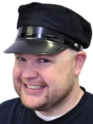 Chauffeur Hat Economy Black
