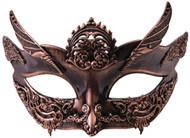 Steampunk Bronze Female Mask