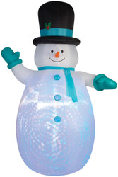 Projection Airblown-snowman