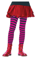 Tights Chld Striped Bkpr 11-13