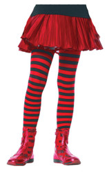 Tights Chld Striped Bkrd 11-13