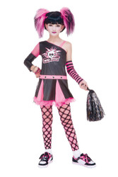 Gothic Cheerleader Child 14-16