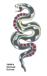 Tattoo Vintage Snake