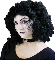 Wig Curly Party Black