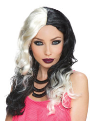 Wicked Witch Blonde Black Wig