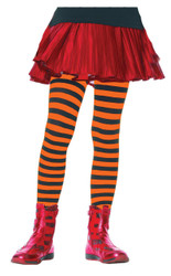 Tights Chld Striped Bkor 11-13
