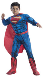 Superman Child Dlx Medium