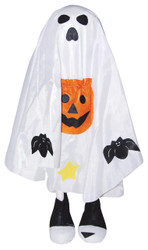 Standing Hallowen Greetr White