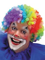 Wig 7 Color Clown