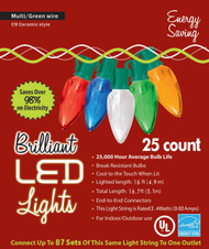 Holiday Lights C9 Ceramic Styl