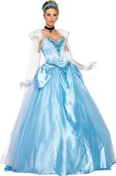 Cinderella Dlx Adult Sm