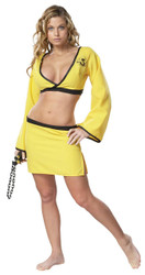 Naughty Ninja Yellow Medium
