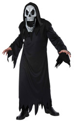 Reaper Elongated Faces Costume