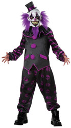 Bearded Clown Costume Adul Med