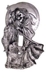 Light Swtch Cvr Grim Reaper
