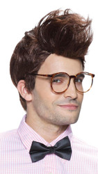 Mens Wigs  Hipster Brown