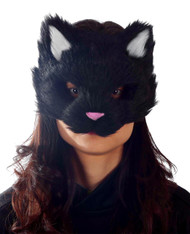 Black Kitty Mask
