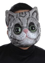 Plastic Face Masks Cat