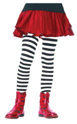 Tights Chld Striped Bkwt 11-13
