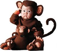 Tom Arma Monkey 4t-5t Toddler