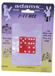 Seven Eleven Dice Rack Pack
