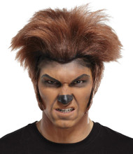 Wolfman Wig Dk Brown Brown