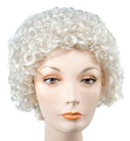 Style 100 Curly Wig Light Brow
