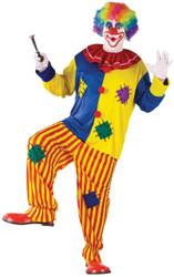 Big Top Clown Costume Plus